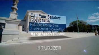 Judicial Crisis Network TV Spot, 'Another Great Justice' - Thumbnail 9