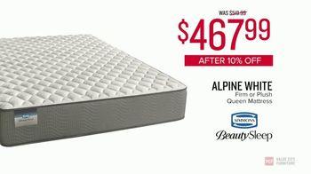 Value City Furniture 4th of July Sale TV Spot, 'Alpine White' - Thumbnail 7