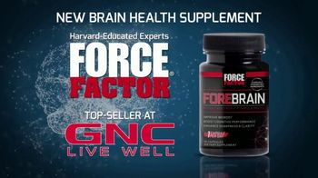 Force Factor Forebrain TV Spot, 'Harvard Grads'