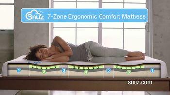 SNUZ Mattress TV Spot, 'Special Grooves' - Thumbnail 5