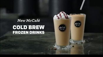 McCafe Cold Brew Frappé & Frozen Coffee TV Spot, 'Colder Than Cold Brew' - Thumbnail 1