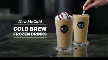 McCafe Cold Brew Frappé & Frozen Coffee TV Spot, 'Colder Than Cold Brew'
