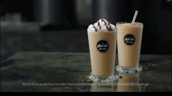 McCafe Cold Brew Frappé & Frozen Coffee TV Spot, 'Colder Than Cold Brew' - Thumbnail 6