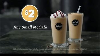 McCafe Cold Brew Frappé & Frozen Coffee TV Spot, 'Colder Than Cold Brew' - Thumbnail 8