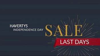 Havertys Independence Day Sale TV Spot, 'Last Days' - Thumbnail 6