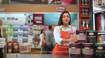 The Home Depot Red, White & Blue Savings TV Spot, 'Paint Project Savings' - Thumbnail 4