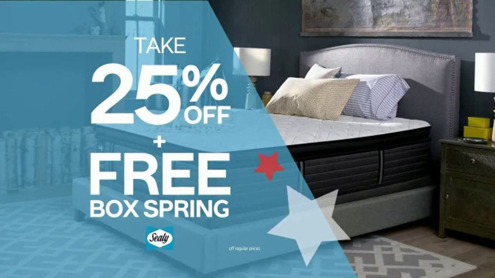 Ashley Homestore July 4th Mattress Sale Tv Commercial Free Box