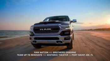 2019 Ram 1500 TV Spot, 'Support The Port' Song by Brothers Osborne - Thumbnail 2