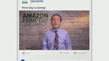 DEALBOSS TV Spot, 'Amazon Prime Day Deals' Featuring Matt Granite
