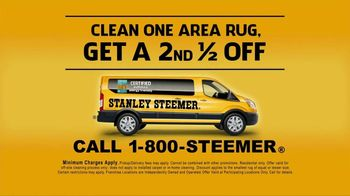 Stanley Steemer TV Spot, 'Oriental and Area Rugs: Half Off'