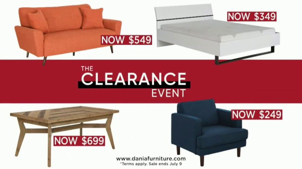 Awesome Dania Clearance Event Tv Commercial Markdowns Extra 10 Percent Video Cjindustries Chair Design For Home Cjindustriesco