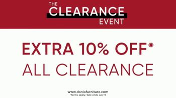 Dania Clearance Event TV Spot, 'Markdowns: Extra 10 Percent' - Thumbnail 6