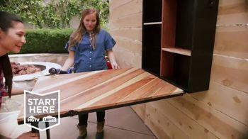 Lowe's TV Spot, 'HGTV: Fold-Down Bar' - Thumbnail 3