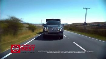 Nissan America's Best Sales Event TV Spot, 'Big Savings' [T2] - 1 commercial airings