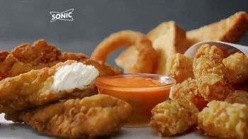 Sonic Drive-In Crispy Tender Dinner TV Spot, 'Portmanteau' - Thumbnail 1