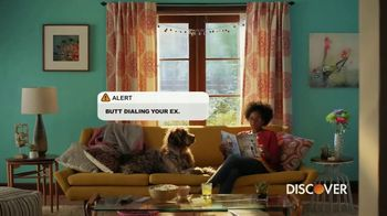 Discover Card Social Security Number Alerts TV Spot, 'Butt Dial' - Thumbnail 3