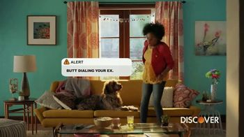 Discover Card Social Security Number Alerts TV Spot, 'Butt Dial' - Thumbnail 4