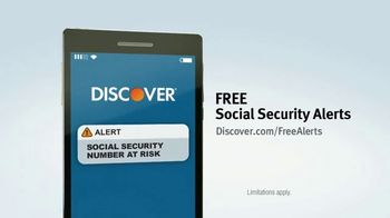 Discover Card Social Security Number Alerts TV Spot, 'Butt Dial' - Thumbnail 8