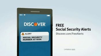 Discover Card Social Security Number Alerts TV Spot, 'Butt Dial' - Thumbnail 9