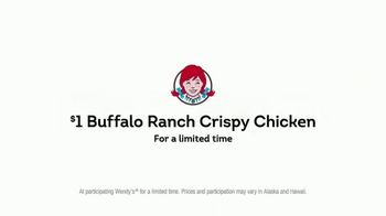 Wendy's $1 Buffalo Ranch Crispy Chicken TV Spot, 'Big Flavor, Little Money' - Thumbnail 8