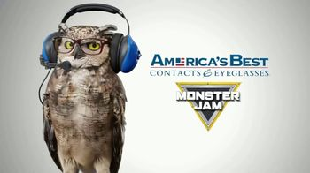 America's Best Contacts and Eyeglasses TV Spot, 'Kid's Monster Jam Frames' - Thumbnail 1