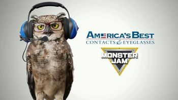 America's Best Contacts and Eyeglasses TV Spot, 'Kid's Monster Jam Frames' - Thumbnail 2