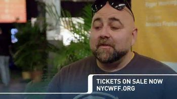 2018 NYC Wine & Food Festival TV Spot, 'Cooking Demonstrations and More' - Thumbnail 4