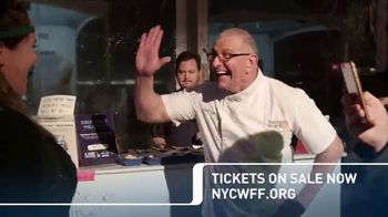 2018 NYC Wine & Food Festival TV Spot, 'Cooking Demonstrations and More' - Thumbnail 9