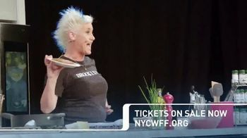 2018 NYC Wine & Food Festival TV Spot, 'Cooking Demonstrations and More'