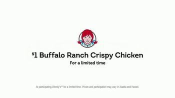 Wendy's $1 Buffalo Ranch Crispy Chicken TV Spot, 'What Can You Really Get' - Thumbnail 10