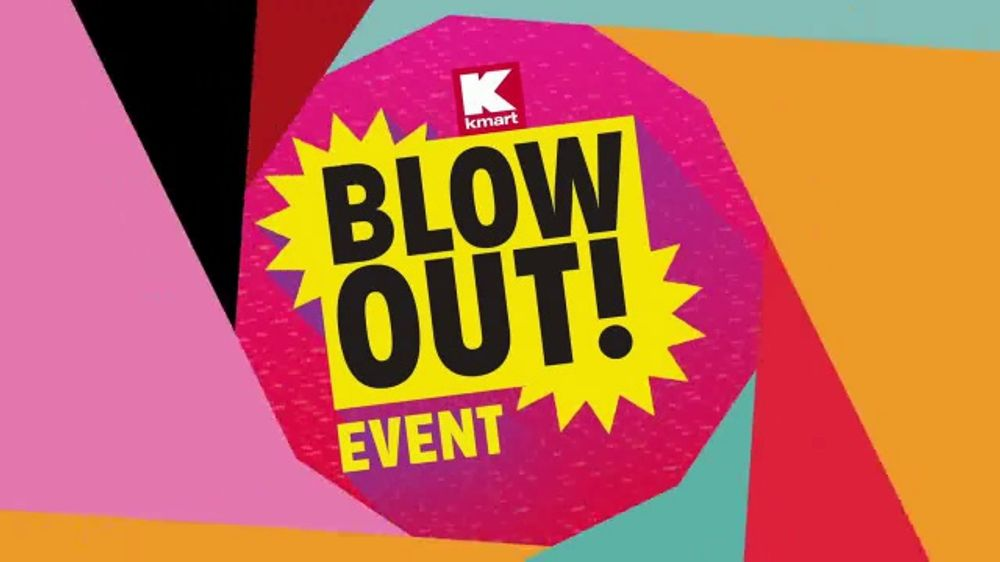 da994127e25 Kmart Blow Out! Event TV Commercial