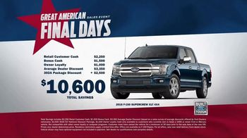 Ford Great American Sales Event TV Spot, 'Independence' [T2] - Thumbnail 8