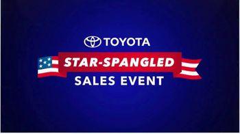 Toyota Star-Spangled Sales Event TV Spot, 'Don't Wait' [T2] - Thumbnail 6