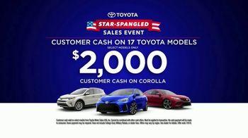 Toyota Star-Spangled Sales Event TV Spot, 'Don't Wait' [T2] - Thumbnail 5