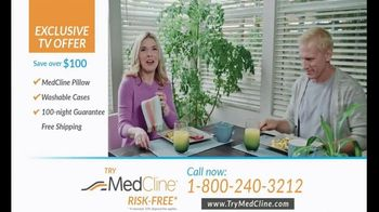 MedCline TV Spot, 'Nighttime Acid Reflux' - Thumbnail 10