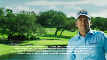 CoolSculpting TV Spot, 'Lose Fat on the Golf Course' Feat. Ian Poulter - Thumbnail 9
