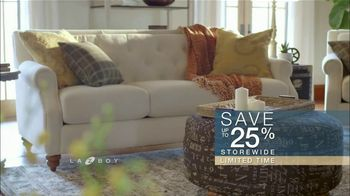 La-Z-Boy Columbus Day Sale TV Spot, 'Work Around That Special Piece: 25 Percent Off' - Thumbnail 7
