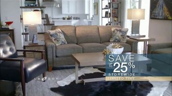 La-Z-Boy Columbus Day Sale TV Spot, 'Work Around That Special Piece: 25 Percent Off' - Thumbnail 8