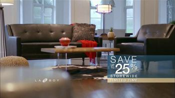La-Z-Boy Columbus Day Sale TV Spot, 'Work Around That Special Piece: 25 Percent Off' - Thumbnail 9