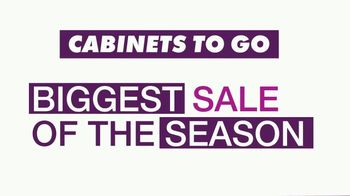 Cabinets To Go Annual Fall Kitchen Makeover Sale TV Spot, 'Kitchen Remodel' - Thumbnail 2