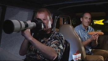 Sonic Drive-In Footlong Philly Cheesesteaks TV Spot, \'Stakeout\'