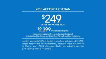 Honda Accord TV Spot, 'Never Settle' [T2] - Thumbnail 9