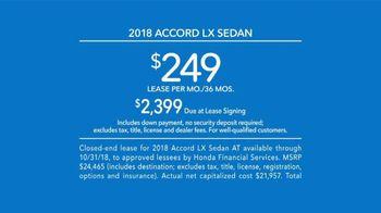 Honda Accord TV Spot, 'Never Settle' [T2] - Thumbnail 8