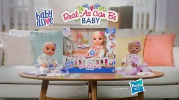 Baby Alive Real As Can Be Baby TV Spot, 'She Babbles Back' - Thumbnail 10