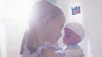 Baby Alive Real As Can Be Baby TV Spot, 'She Babbles Back' - Thumbnail 2