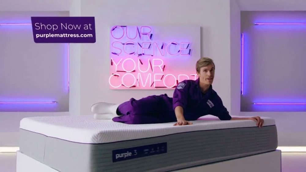 Purple Mattress Tv Commercial Our Science Your Comfort