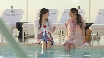 Hilton Hotels Worldwide TV Spot, 'Poolside' Featuring Anna Kendrick - Thumbnail 1