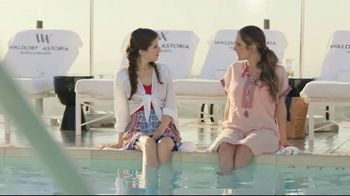 Hilton Hotels Worldwide TV Spot, 'Poolside' Featuring Anna Kendrick - Thumbnail 7
