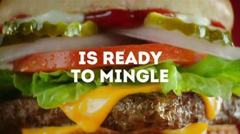 Wendy's Dave's Single TV Spot, 'Ready to Mingle'
