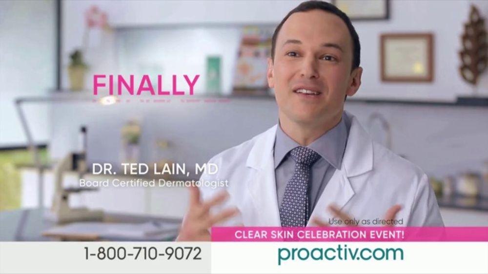 ProactivMD Clear Skin Celebration Event TV Commercial, 'Five Minute Rave V3 (300s En -E4)'